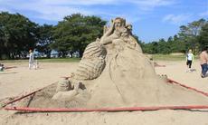 砂アートのクオリティがスゴイ!稲沢のサンドフェスタ