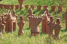 10月の「ハニワ祭り」で飾られる!春日井市の2日かけて作り上げる「ハニワ制作大会」