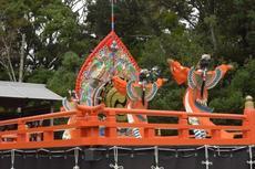全国でも珍しい!4月29日は真清田神社で「舞楽神事」が開催