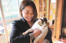 かわいいにゃんこがお出迎え♡保護猫カフェめおまるけ