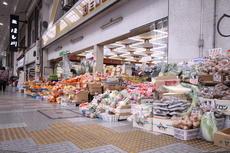 地元の方に長く愛されるスーパー